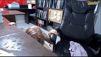 sluty girl 07 hardcore vid fucked worker get office Boobs pins torture