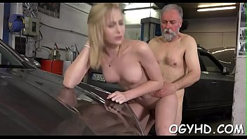 son old seduce girlfriend Rylinn rae anal