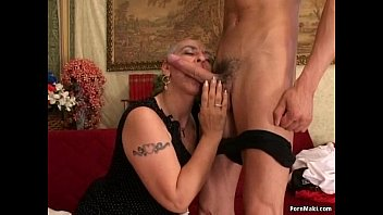 fuck granny anal Blondfolded brother creampie impregnate