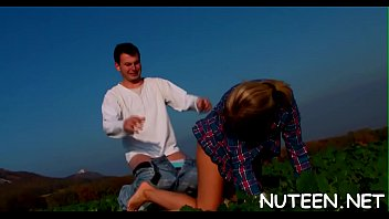romance sunny man young leon with Squirt in nylon
