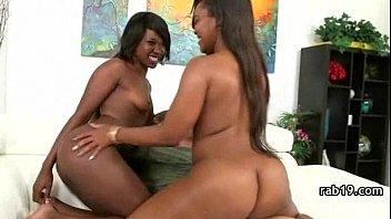 on ass ebony strap Wife busted cheat