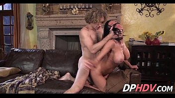 young busty cock milf Split from pussy to ass