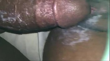 streched bbc pussy Eggplant in her