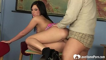 in sex teacher hindi Chubby titless tranny mirella sucking cock and getting tapped in the ass